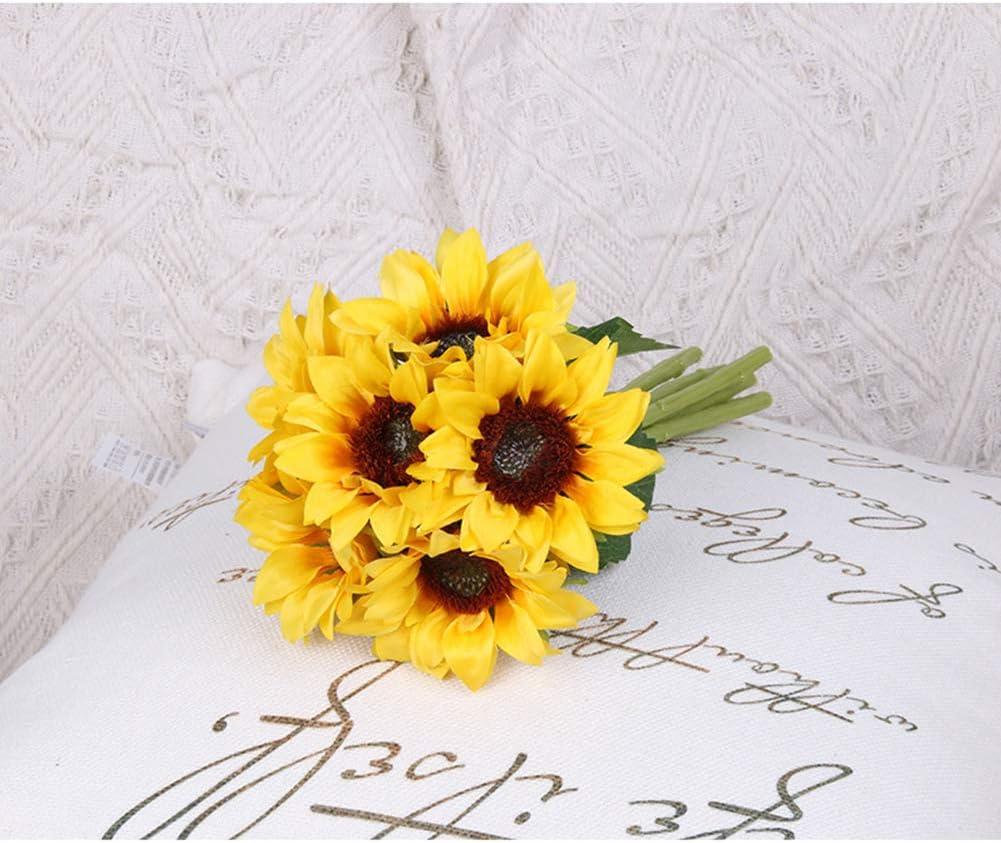 Medium Sized Silk Sunflower Bouquet