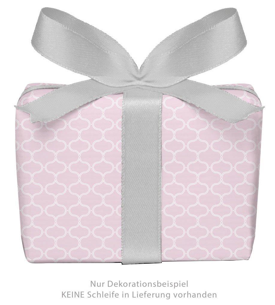 Set di 3 fogli di carta da regalo universale retrò vintage rosa con motivo a nido d'ape per Natale & Avvento Carta di Natale per regali di Natale, calendario dell'Avvento ecc. Formato: 50 x 70 cm. Tina Frankenstein-Börlin
