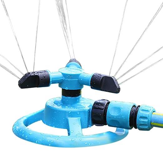 chic-chic-jardin aspersor giratorio con 3 brazo 360 ...