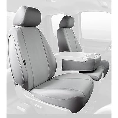 Fia SP88-31 GRAY Custom Fit Front Seat Cover Split Seat 40/20/40 - Poly-Cotton, (Gray): Automotive