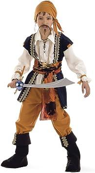 Limit Sport - Disfraz de pirata malvado para niño (MI387): Amazon ...