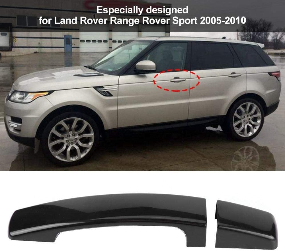 Broco 4pcs Car Glossy Black Exterior Door Handle Cover for Range Rover Sport Discovery 3 Freelander 2