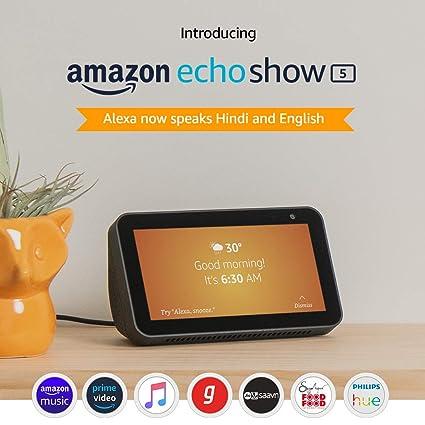 Introducing Echo Show 5 Smart Display With Alexa 5 5 Screen