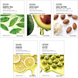 The Face Shop Unisex Dry Skin Masksheet Combo (Pack of 5)
