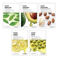 The Face Shop Unisex Dry Skin Masksheet Combo (Pack of 5)
