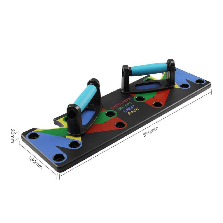 Starmood Push-Ups Soporte Tabla Ultra Flexiones 9 en la 1 Sistema Port/átil para el Hogar Entrenamiento F/ísico