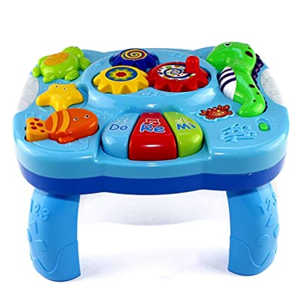Amazon.com: Vedic - Mesa de aprendizaje musical para niños ...