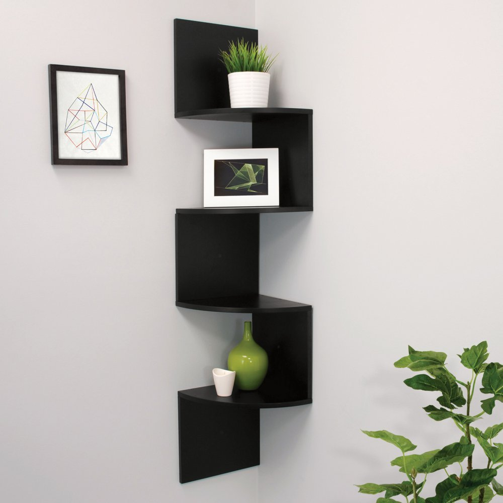 AZ Trading Provo Corner Shelf with 4 Shelves by AZ Trading