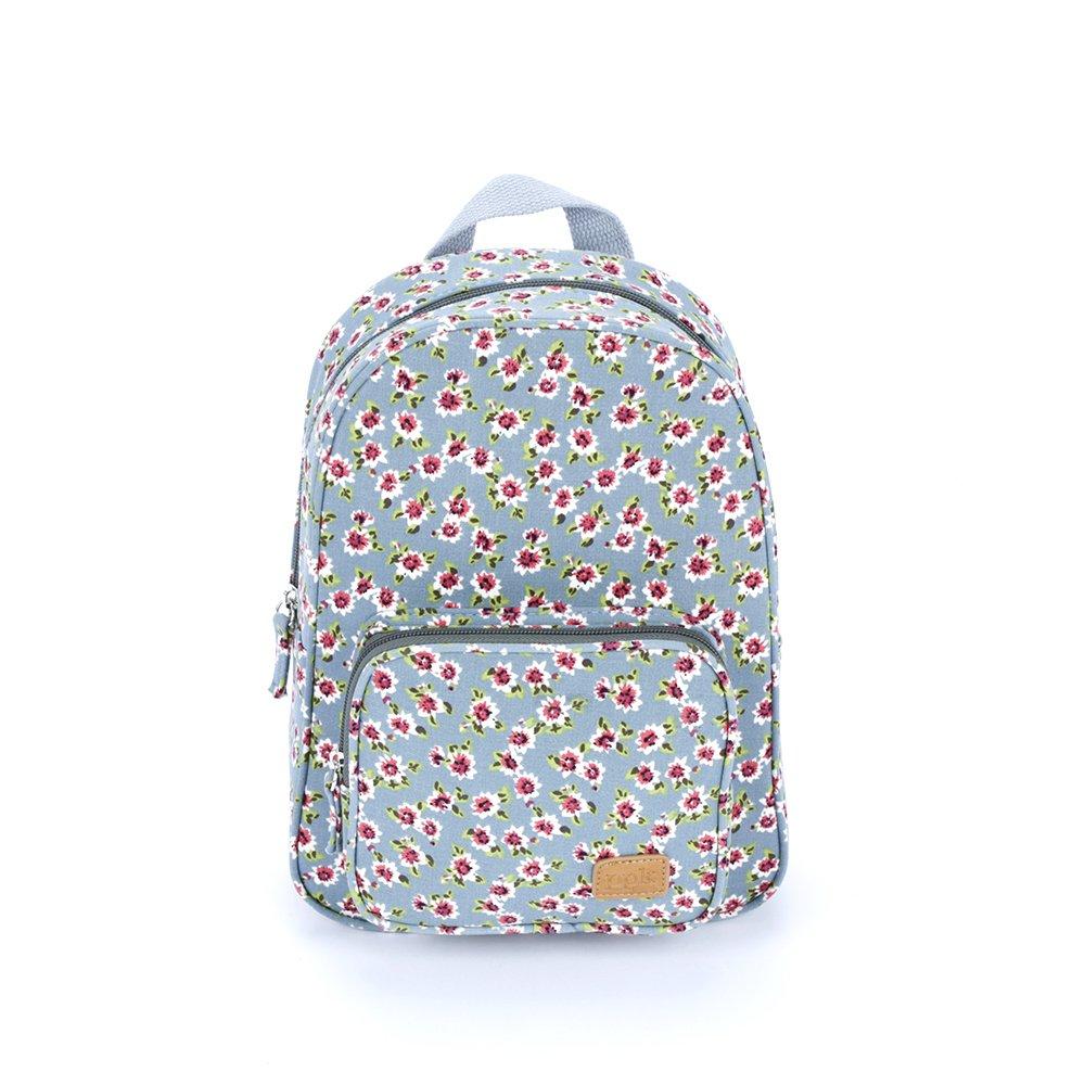 Peppercorn Kids Girls ' Mini backpack-vintage floral-blue One Size ブルー B01N21CODU