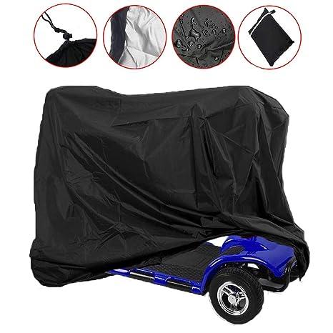 Funda de almacenamiento para silla de ruedas Sqoto, impermeable, protector de lluvia ligero contra