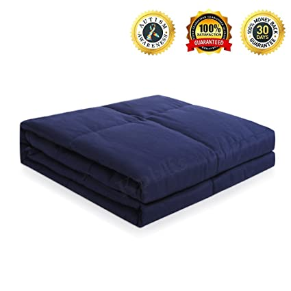 Weighted Blanket Heavy Sensory Blanket Stress Relief Gifts Bed