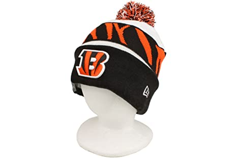 Image Unavailable. Image not available for. Color  New Era NFL 13 On Field Cincinnati  Bengals Sport Knit Hat White 281fa4eb7