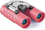 Binoculars for Kids Best Gifts for 3-12 Years Boys Girls 8x21 High-Resolution Real Optics Mini Compact Binocular Toys Shockpr