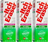 The Itch Eraser Gel Insect Bite Treatment (Pack of 3), 2 Ounce
