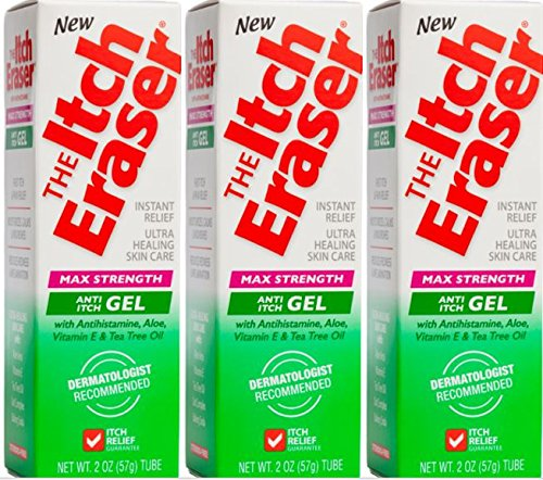 The Itch Eraser Gel Insect Bite Treatment (Pack of 3), 2 Ounce ()