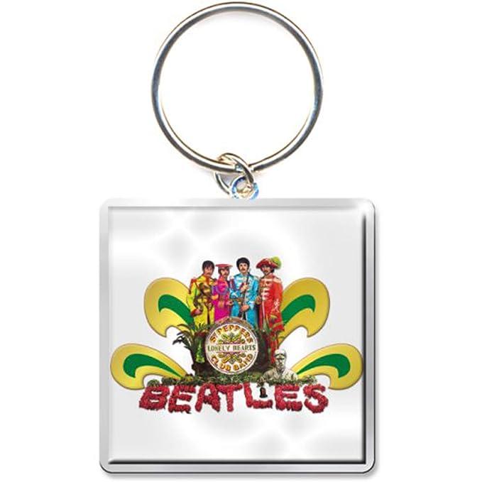 The Beatles Sgt Pepper White John Lennon llavero con ...