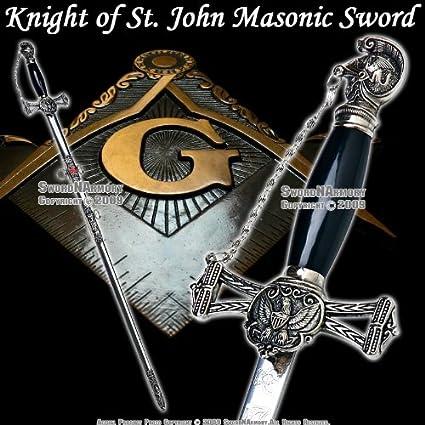 Amazon com : Templar Knight of St  John Crusader Mason