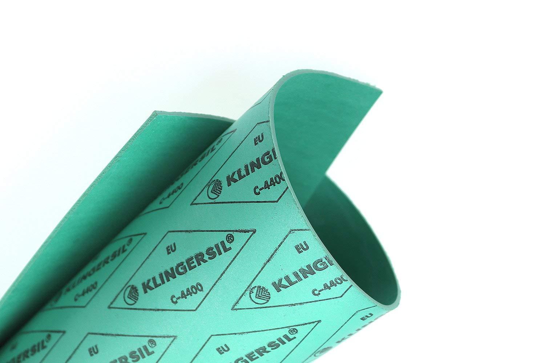 Dichtungsplatte Klingersil C-4400 1mm Dichtungspapier 350x250mm Flachdichtung