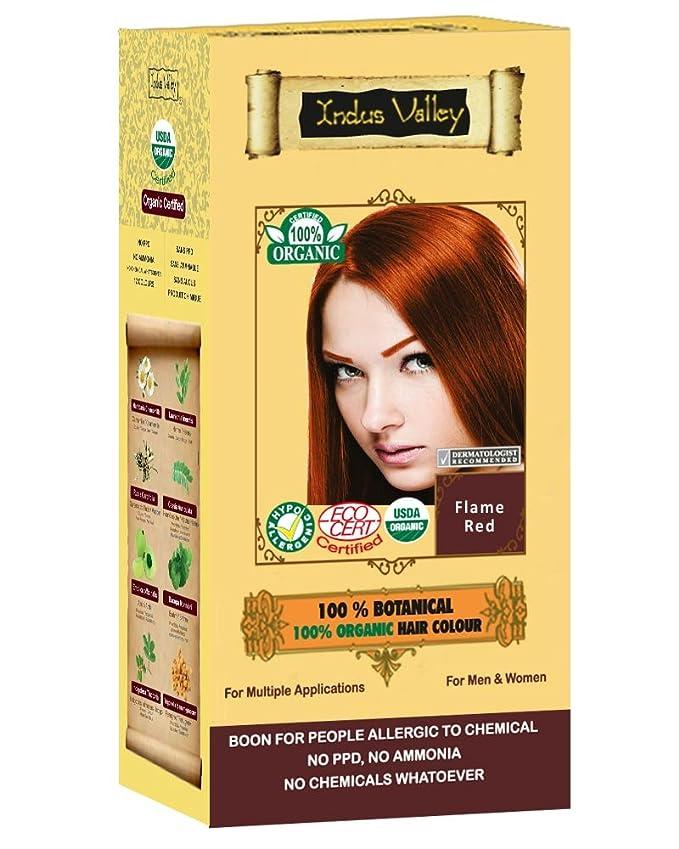 Amazon Indus Valley 100 Botanical 100 Organic Flame Red