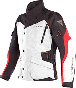 Dainese 1654610 Chaqueta Tempest 2 Dry Gris-Rojo 52, Light Grey/Black/Tour Red: Amazon.es: Coche y moto