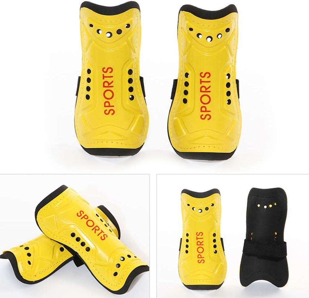 Shin Pads Boys Homo Trends Football Shin Pads 3 Sizes Soccer Shin Guards Socks Yellow Kids Football Socks for Boys And Girls Football Games Leg Calf Protective Gear