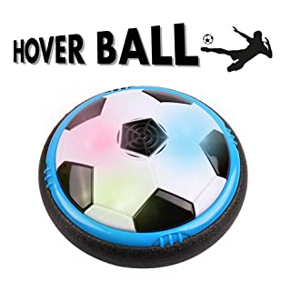 Game Toy for kids, Amazing Hover Ball with LED Lights & Foam Bumpers Football Toys for children Air Power Training Ball for Indoor or Outdoor with Parents Game Perfect for Kids gifts