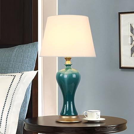 &Luz para Leer Lámpara de Mesa de cerámica - La Mejor Serie de lámparas de Mesa de cerámica en Amazon Mall (GT100841) - Primera Calidad de la Clase Lámpara de Noche: Amazon.es: