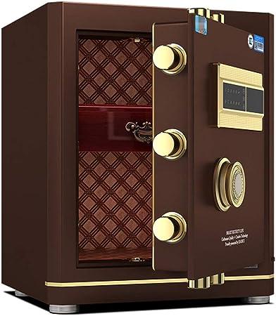 WiaLx Caja Fuerte de Acero de Seguridad con Teclado Digital de Huellas Digitales for la joyería de Ministerio del Interior y Hoteles Cash Passport Armas Cajas Fuertes de Armas: Amazon.es: Hogar