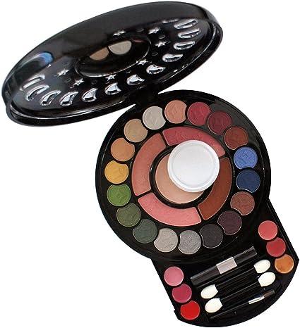Gloss - caja de maquillaje, caja de regalo para mujeres - Paleta de Maquillaje - 34 Pzs: Amazon.es: Belleza