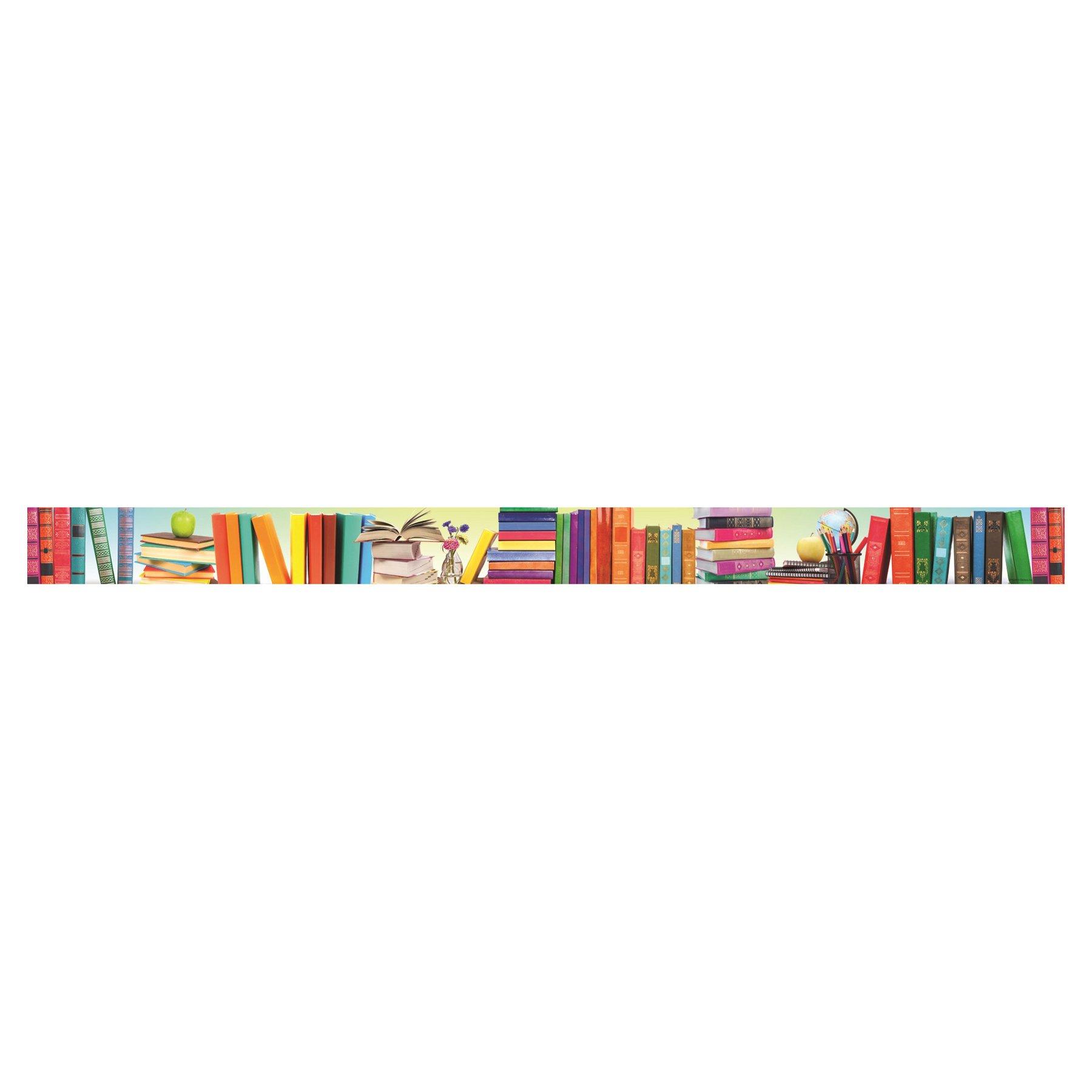 Edupress Book Parade Straight Border Trim (EP63289) by Edupress