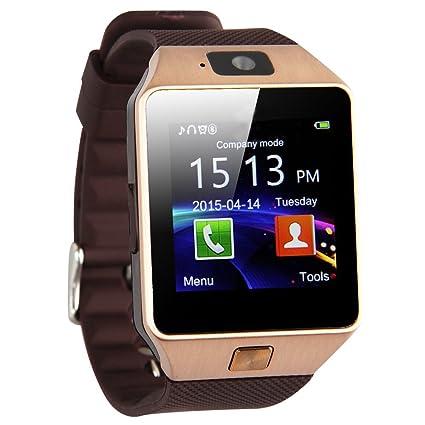 reloj de telefono elegante - TOOGOO(R) DZ09 Reloj de telefono inteligente de Bluetooth para telefono inteligente de Samsung iphone HTC Android con ...