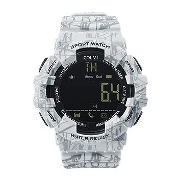 GGOII Pulsera Inteligente EX16C Camo Smartwatch 5 ATM Impermeable ...