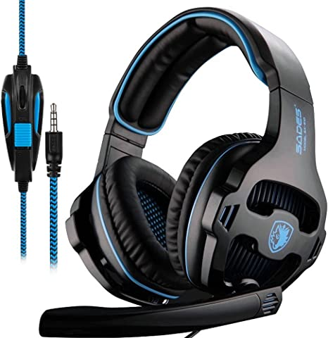 Sades Xbox One PS4 Gaming Headset Over