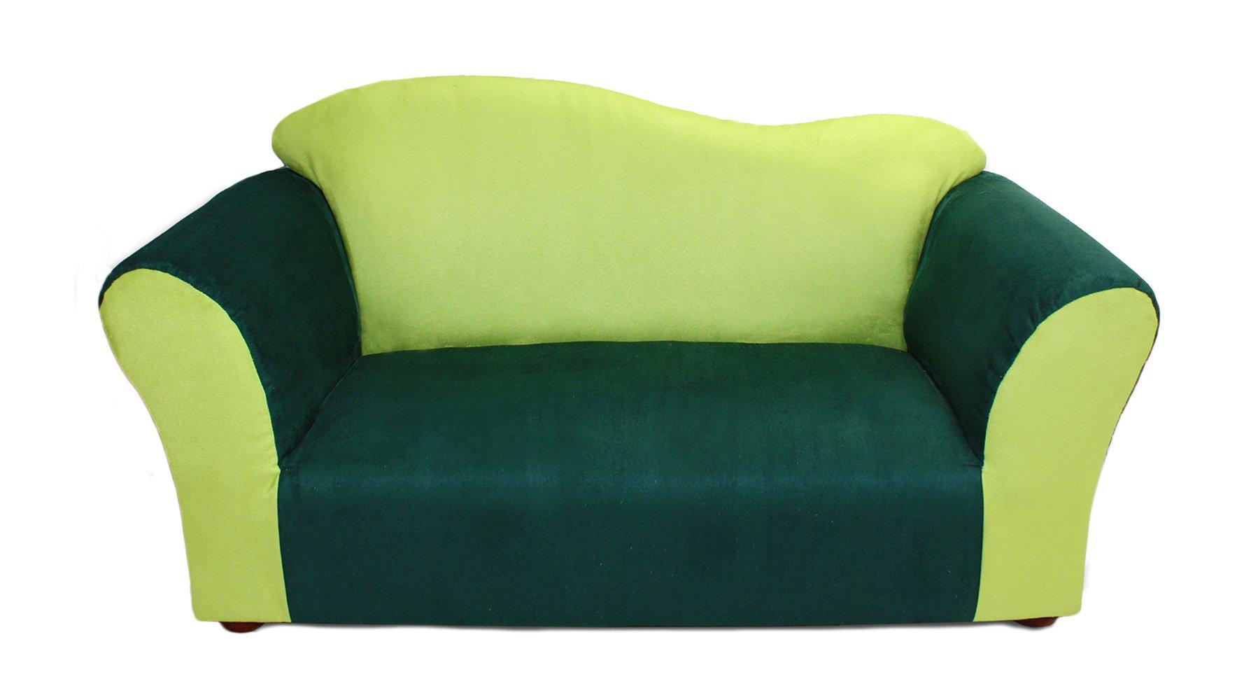 KEET Wave Kid's Sofa, Green by Keet