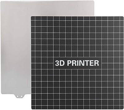 Accesorios de impresora 3D 235 * 235mm 3 mm Cama caliente Placa de ...
