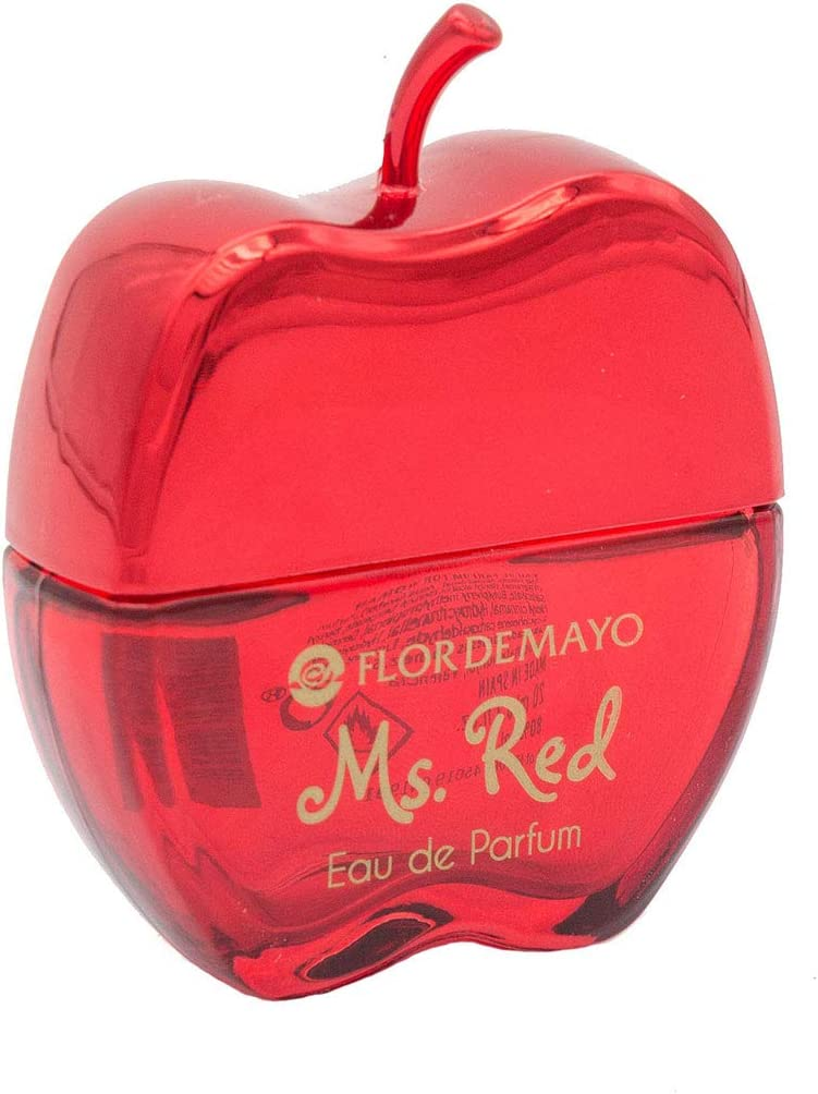 Expositor 17ud. Mini Colonia Apple Ms. Red para mujer. Con Téster de regalo. 18 x 20ml: Amazon.es: Belleza