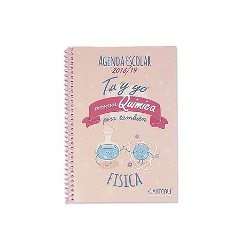 Casterli - Colección Inspire - Agenda Escolar 2018/19, día página, tamaño A5