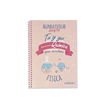 Casterli - Colección Inspire - Agenda Escolar 2018/19, día ...