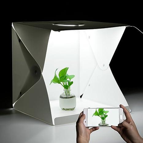 iLifeSmart Caja de Luz Regulable y Plegable para Estudio ...