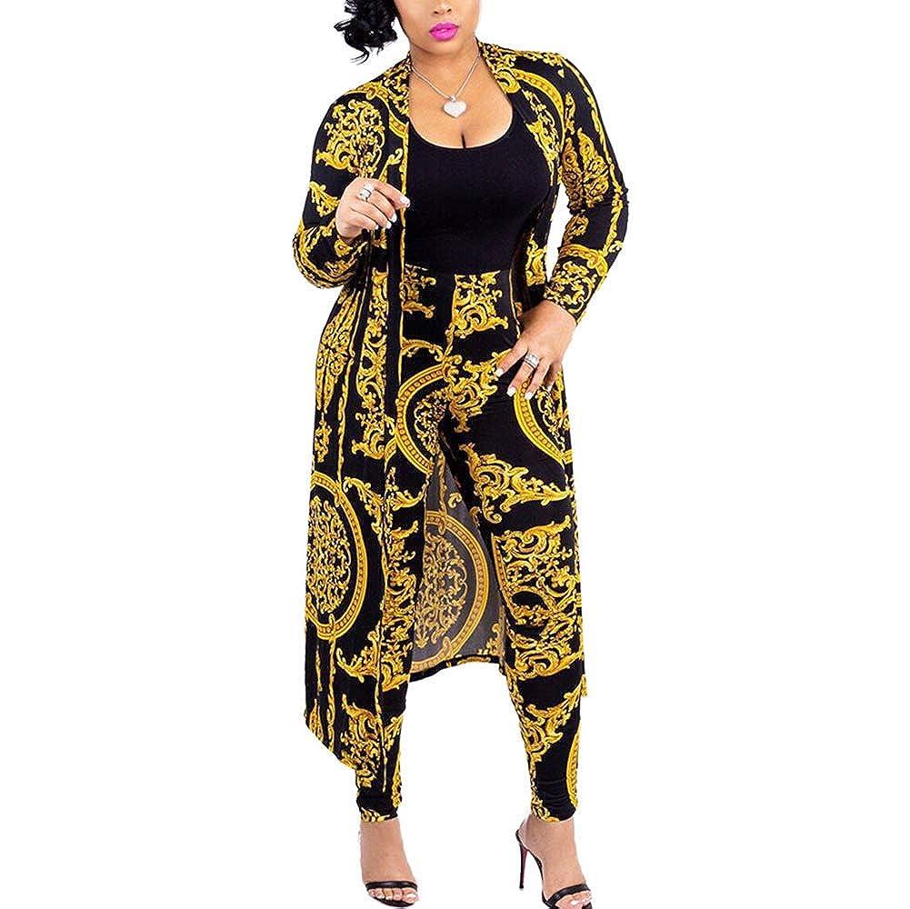 Amazon.com: ChengQi - Conjunto de chaqueta y pantalón de ...