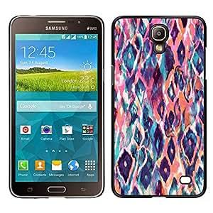 Caucho caso de Shell duro de la cubierta de accesorios de protección BY RAYDREAMMM - Samsung Galaxy Mega 2 - Modelo animal arte de la acuarela del melocotón