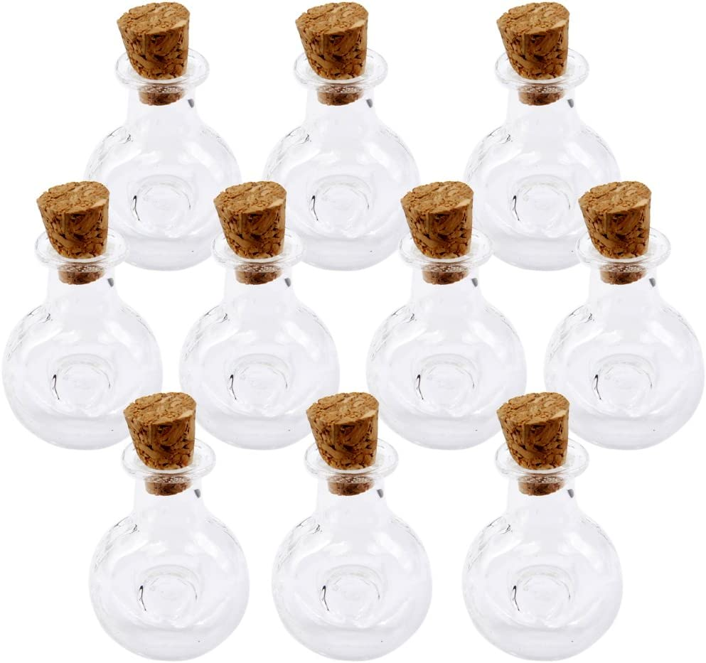 Mini Corcho Cristal Botella Xo Winebottle Frascos Viales Desean ...