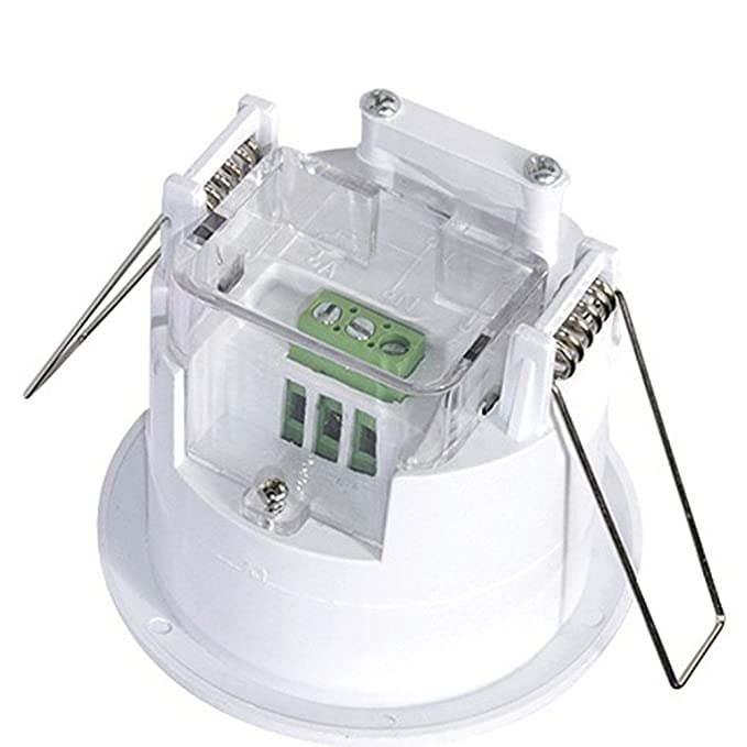 Maclean - Mce20 - detector sensor de movimiento de techo empotrable 360º: Amazon.es: Bricolaje y herramientas