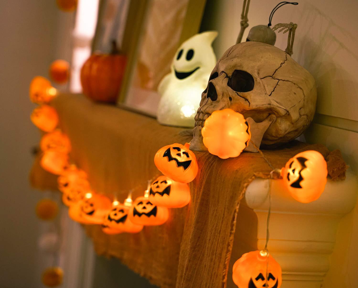 Luces de calabaza de Halloween GiBot