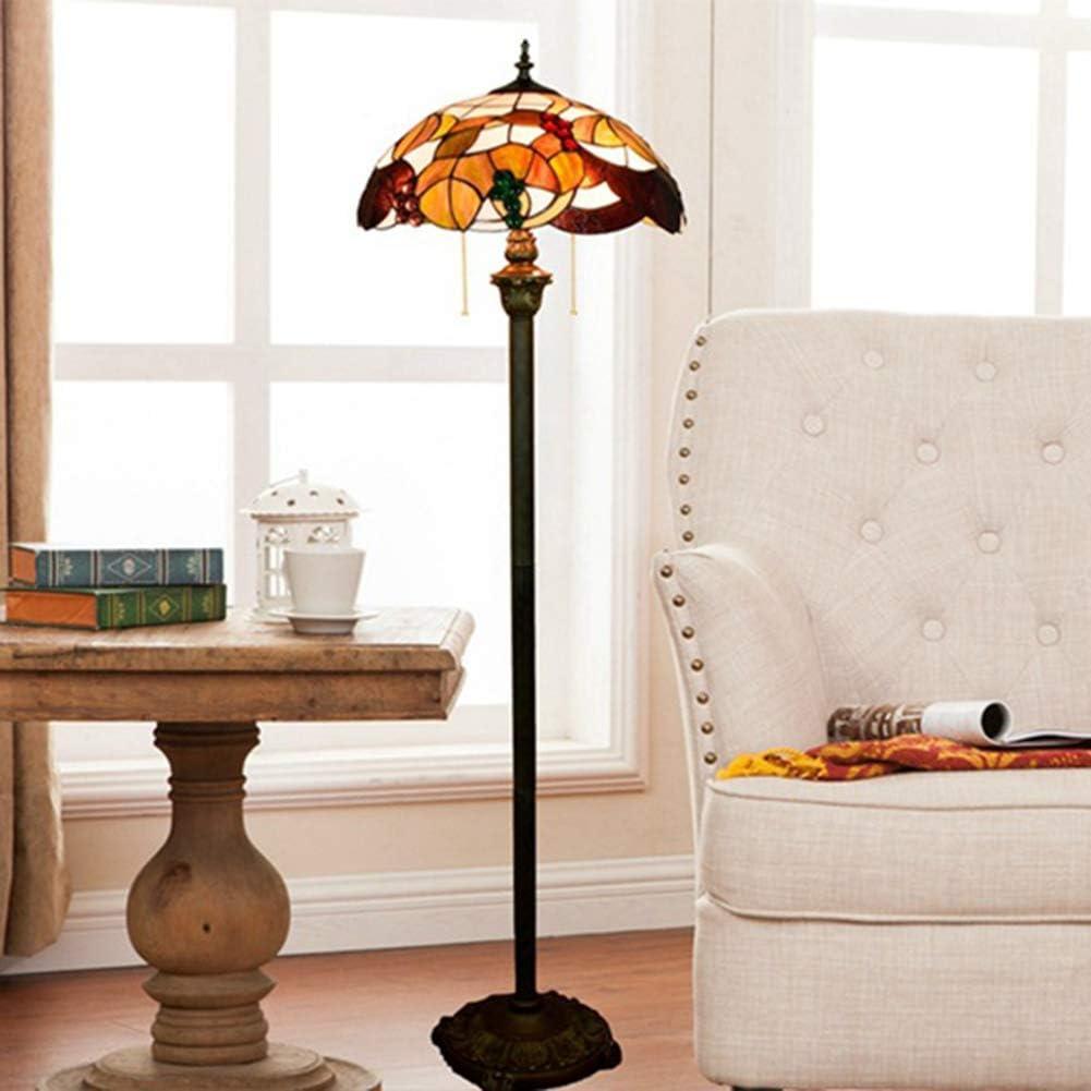 SXFYWYM Lámpara de pie jardín Creativo Tiffany Estilo araña de Cristal para Sala de Estar diningroom baño iluminación,Color,162x40cm: Amazon.es: Hogar