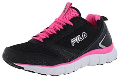 fila for women. fila women\u0027s memory windstar sneakers, black mesh, leather, for women