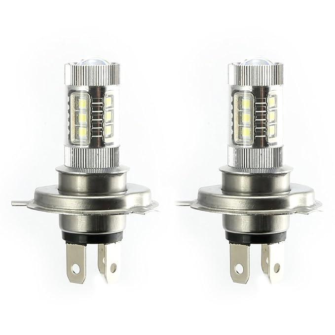 3 opinioni per 2X LED H4 9003 HB2 Nebbia Lampadina 80W Luce di Fendinebbia Luci di Guida Super