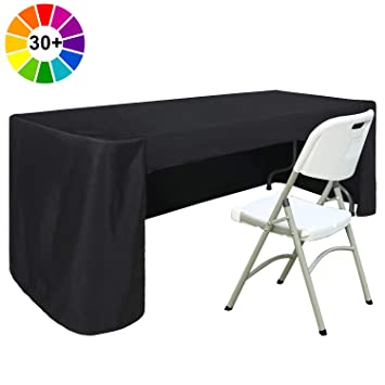 Abccanopy 6 Ft Rectangle Table Cloth Table Cover For Rectangular Table In Washable Polyester Great For Buffet Table Parties Holiday Dinner Wedding
