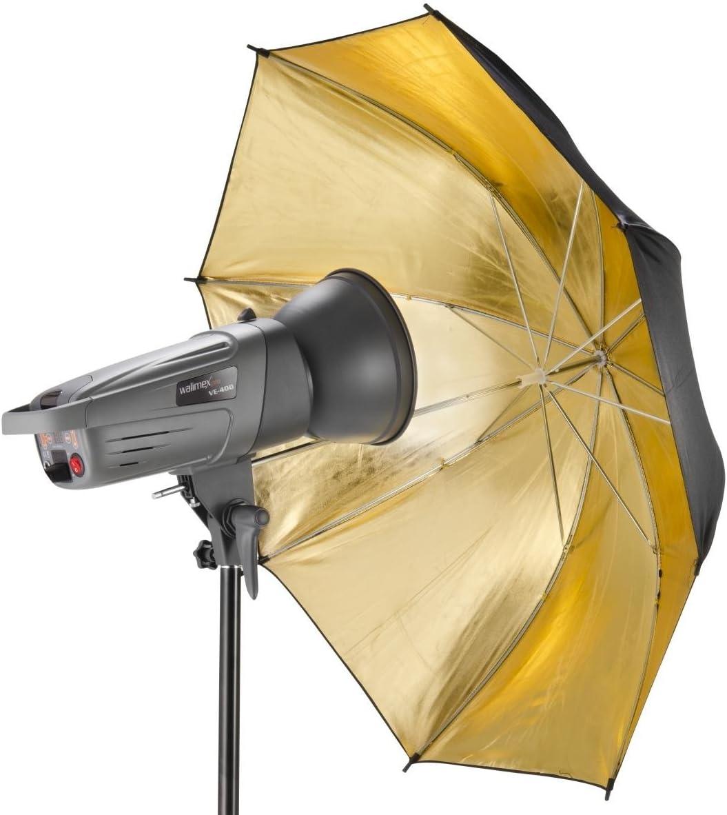 Walimex Reflexschirm Gold Kamera