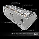 DNA Motoring CYLH-SBC-350 Aluminum Bare Cylinder